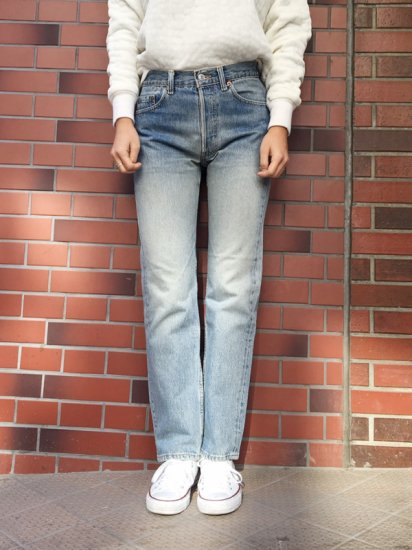 【USED】Levi's #501 JEANS W28