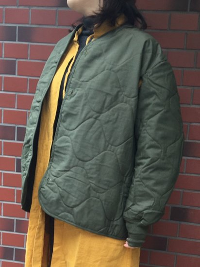 【DEAD STOCK】AIRCREW LINER JACKET MEDIUM  REGULAR
