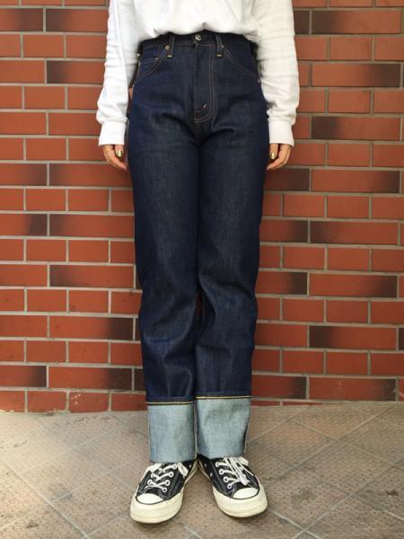 ★再再入荷★【NEW】LEVIS VINTAGE CLOTHING 1950s #701 RIGID JEANS ...