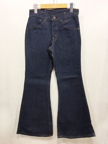 【DEAD STOCK 】Vintage 70s Levis #784  Orange Tab Bell Bottom Jeans<br>W25L27