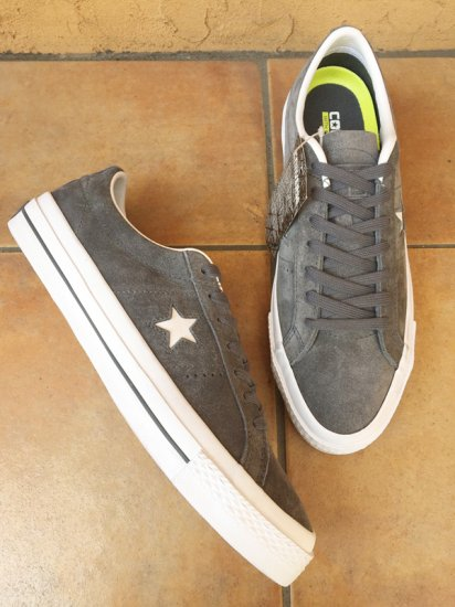 【NEW】CONVERSE CONS <BR>ONE STAR SUEDE  DOLPHIN GRAY