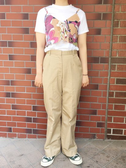 【USED】PATRIOT UNIFORM CHINO PANT W27