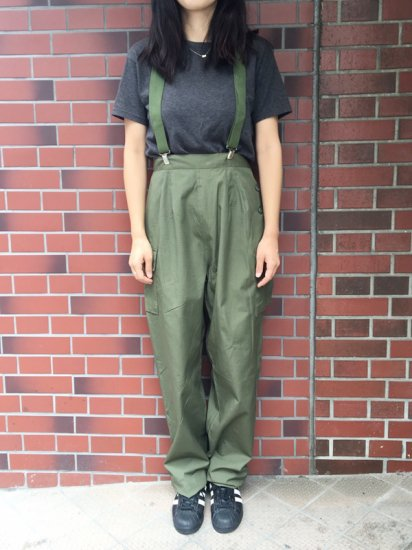 ★再入荷★【DEAD STOCK】 US MILITARY POPLIN RIP-STOP WOMEN'S UTILITY PANTS