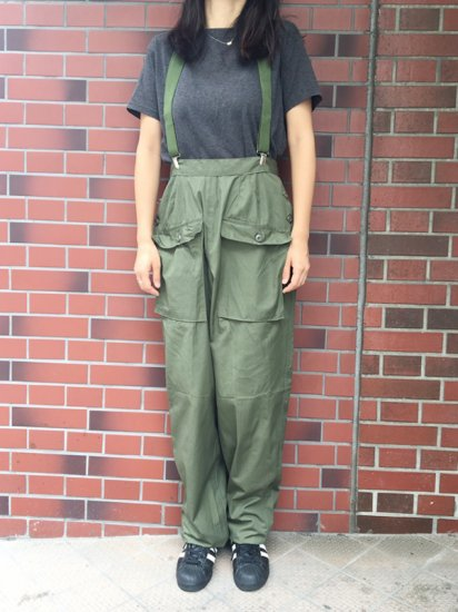 【DEAD STOCK】 US MILITARY POPLIN RIP-STOP WOMEN'S UTILITY PANTS