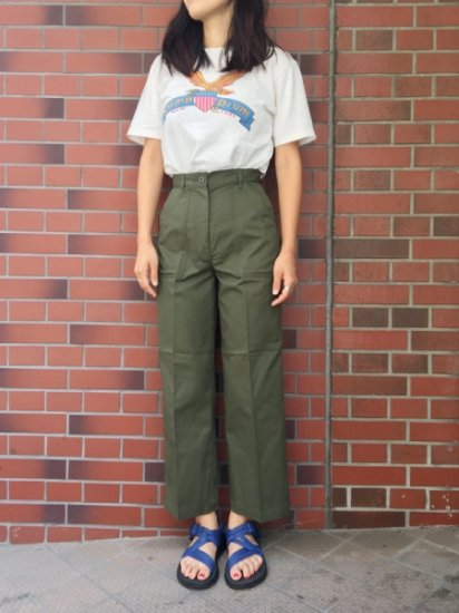 【DEAD STOCK】U.S ARMY BAKER PANTS 10/27(W25)