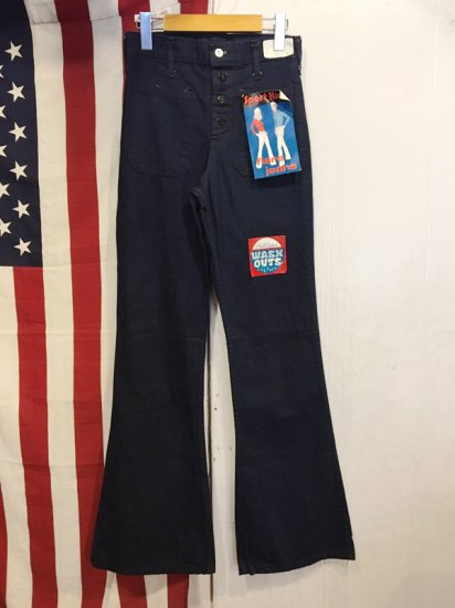 【DEAD STOCK】 SPORT KING BELL BOTTOMS