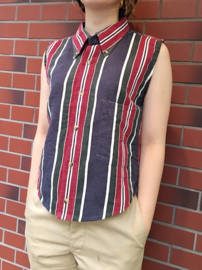 【USED】RE-MAKE NAUTICA N/S SHIRT