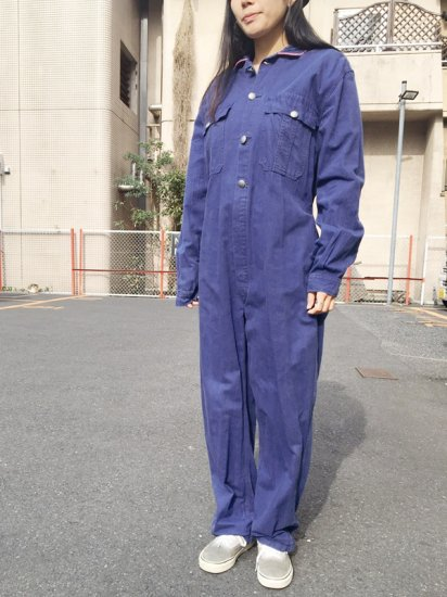 【USED】VINTAGE EURO FRENCH WORK JUMPSUITS