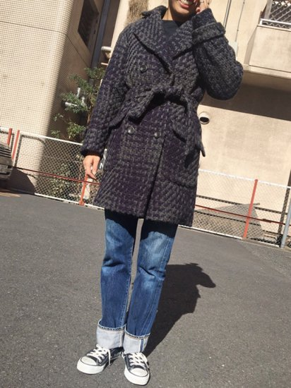 【USED】TWEED COAT