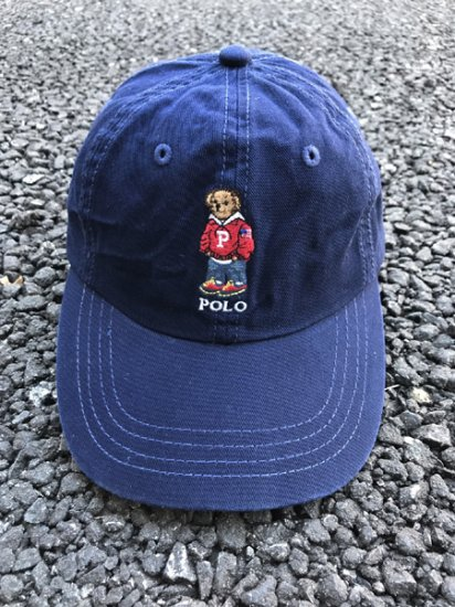 【USED】 POLO RALPH LAUREN Bare Cap Navy