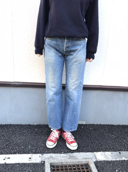 【USED】LEVI'S #501 BIG E 赤耳 復刻 JEANS DENIM PANTS Blue W29 L27.5 Made in U.S.A
