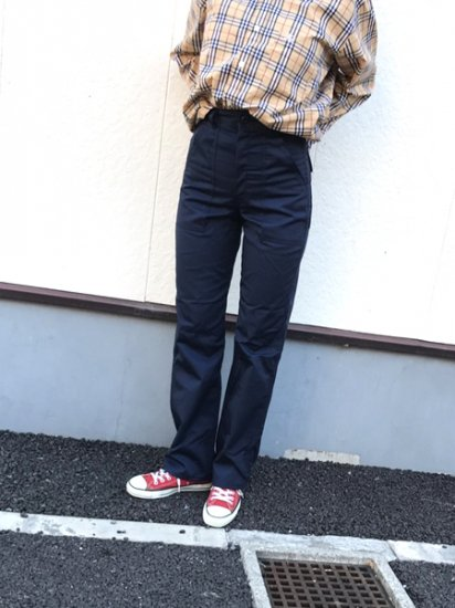 【DEAD STOCK】 80's 4Pockets Fatigue Baker Pants W27 L31 Made in U.S.A
