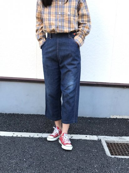 【USED】50's〜60's VINTAGE Glamour Alls Denim Runch Pants W27 L21.5 Made in U.S.A