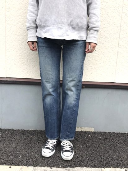 【USED】 40's VINTAGE LEVI'S #503BXX JEANS DENIM PANTS Blue W27 L29.5 Made in U.S.A