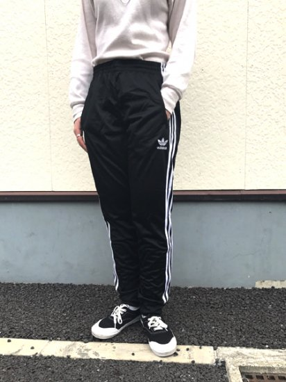 【USED】adidas CUFFED TRACK PANTS Black Size:S , M