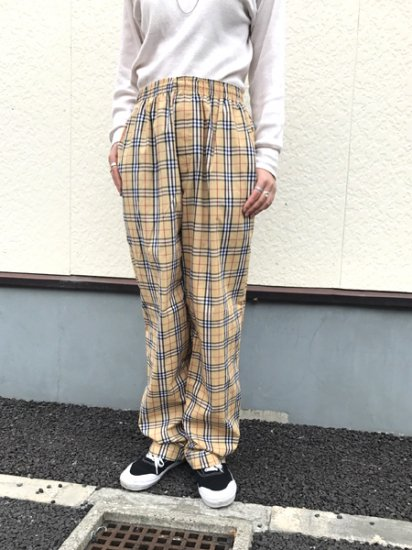 ★再入荷★【NEW】ORIGINAL PAJAMA PANTS Beige Size:Free