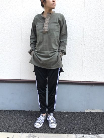 【DEAD STOCK】Czech Army Military Thaermal Dress Sage Green