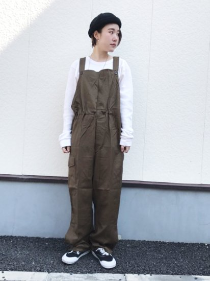 ★再入荷★【DEAD STOCK】Czech Army Military Overall Olive Brown Green