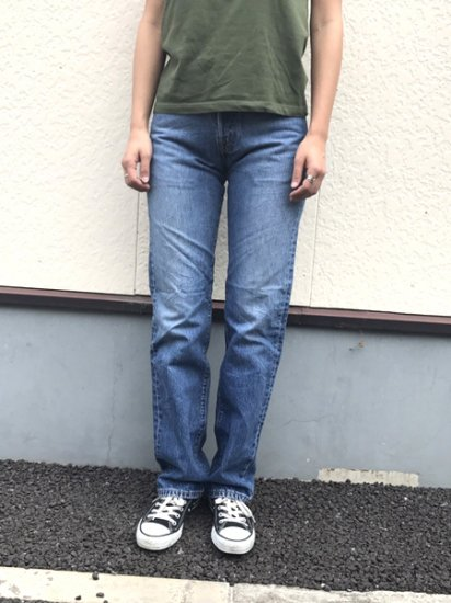 【USED】Levi's #501 JEANS DENIM PANTS Blue W27 L33