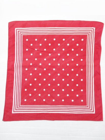 【USED】Bandana Red