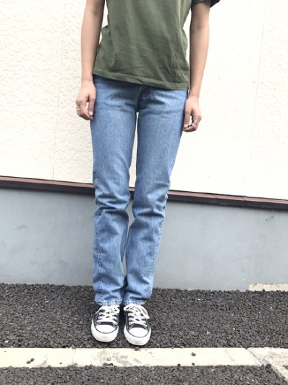 【USED】Levi's #501 JEANS DENIM PANTS Blue W27 L31.5