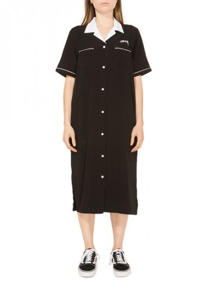 【NEW】STUSSY Sid Bowling Dress Black 211121