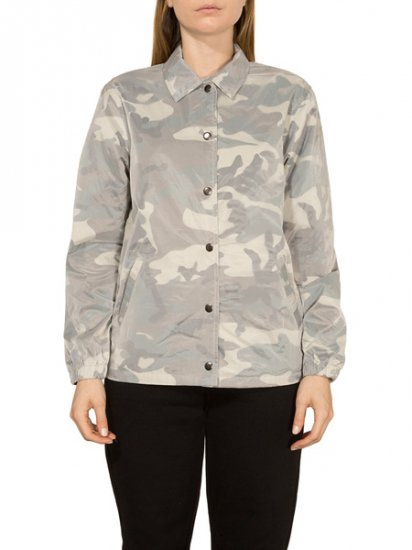 【NEW】STUSSY Lenny Translucent Coach Jacket Camo 215070