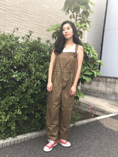 ★再入荷★【DEAD STOCK】Czech Army Herringbone Military Overall Olive Brown Green