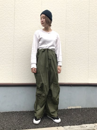【DEAD STOCK】U.S Army Military M-51 Arctic Over Pants Olive Green SR