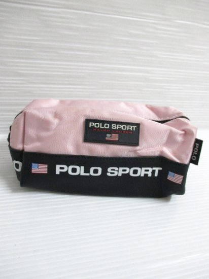 【USED】 POLO SPORT RALPH LAUREN Poach Pink