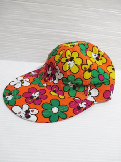 【DEAD STOCK】 Minnie Mouse Baseball Cap Orange