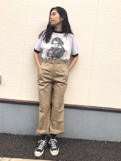 【DEAD STOCK】 95's U.S Army Military Chino Pants Beige Brown