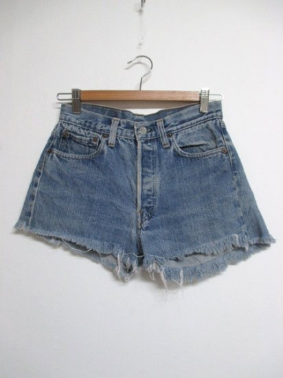 【USED】 VINTAGE LEVI'S #501 Cut Off Short Pants Shorts W27