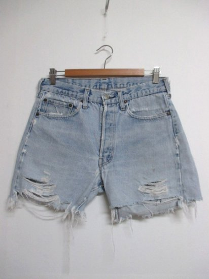 【USED】 LEVI'S #501 Cut Off Short Pants Shorts W31