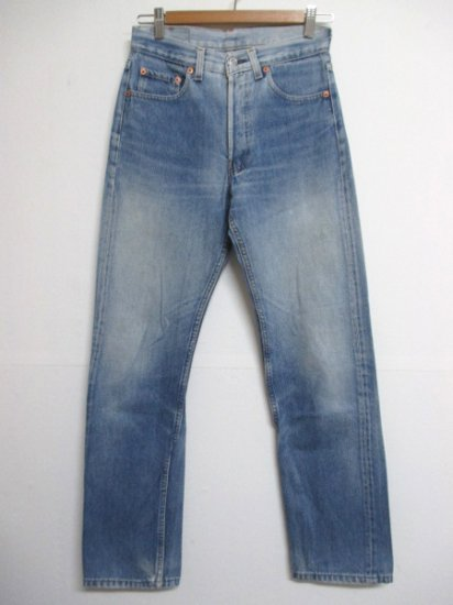 【USED】Levi's #501 JEANS DENIM PANTS Blue W28 L30 Made in U.S.A