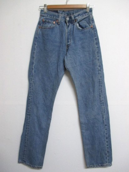 【USED】Levi's #501 JEANS DENIM PANTS Blue W26 L31 Made in U.S.A