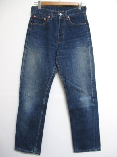 【USED】Levi's #501 JEANS DENIM PANTS Blue W28 L29.5