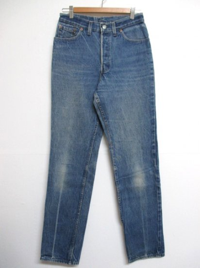 【USED】Levi's #501 JEANS DENIM PANTS Blue W29 L33 Made in U.S.A