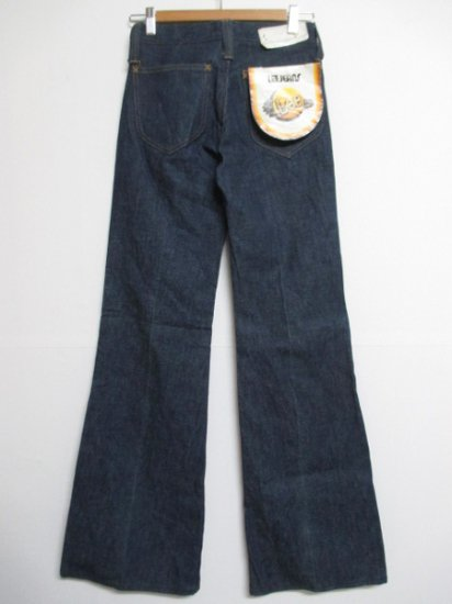 【DEADSTOCK】80's VINTAGE Lee Flare Denim Pants W27 L34 Made in BELGIUM