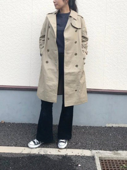 【USED】 Burberrys Trench Coat Khaki