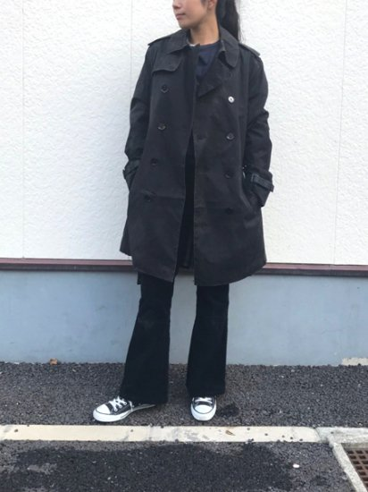 【USED】 BURBERRY LONDON Trench Coat Black