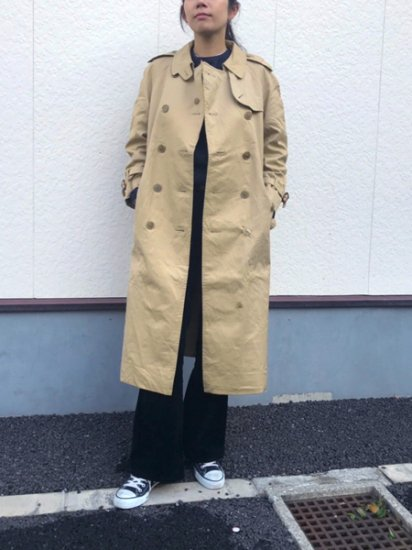 【USED】 Burberrys Trench Coat Beige Camel