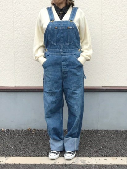 【USED】 70's VINTAGE Lee Denim Overall Blue Made in U.S.A