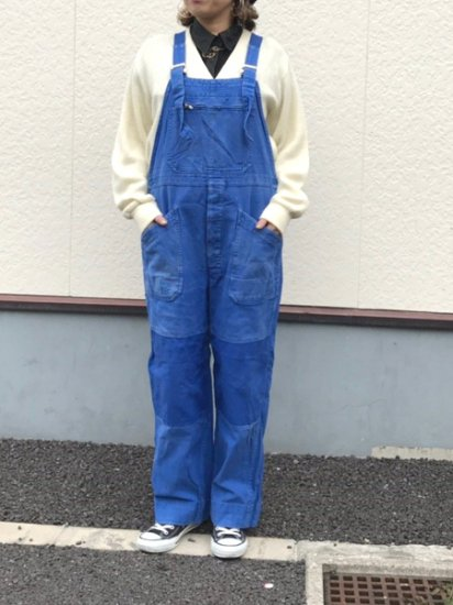 【USED】 VETRA Euro Work Overall Blue Made in FRANCE