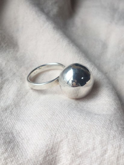 7/15 21:00発売<br>【NEW】925 SILVER BALL RING
