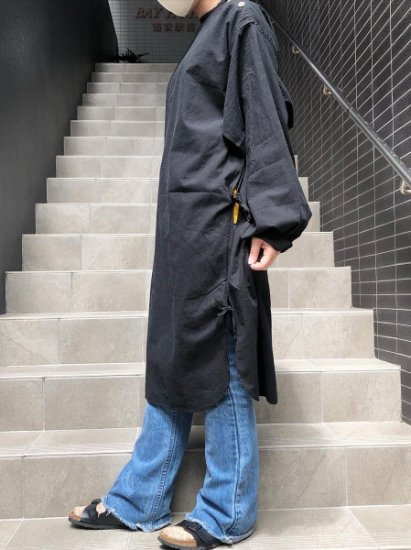 【DEAD STOCK】Swedish Military Over Dye Surgical Gown-B