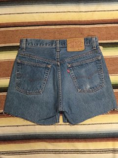 【USED】Levi's #501 DENIM CUT OFF SHORTS