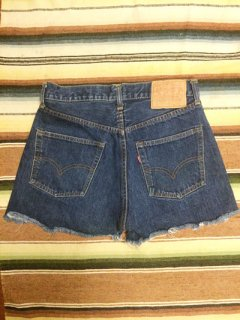 【USED】VINTAGE Levi's #501 66SINGLE DENIM CUT OFF SHORTS