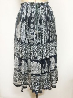 【USED】INDIA PEACOCK SKIRT