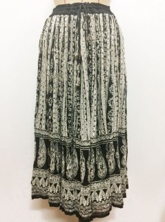 【USED】INDIA PAISLEY SKIRT